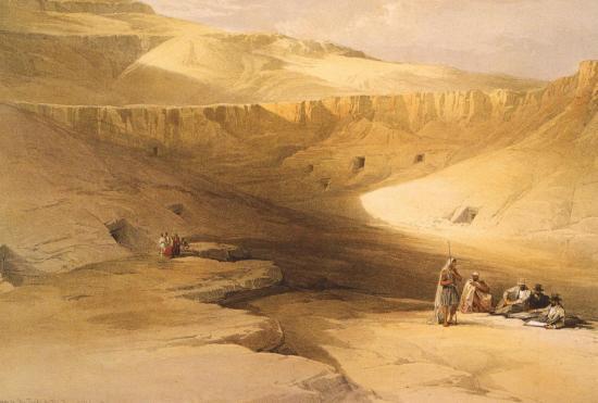 Entrée de la vallée des rois Bihan el-Molouk