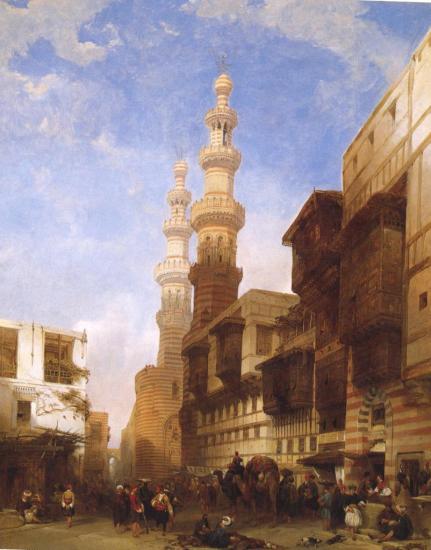 Le Caire porte de Metwaley 1843