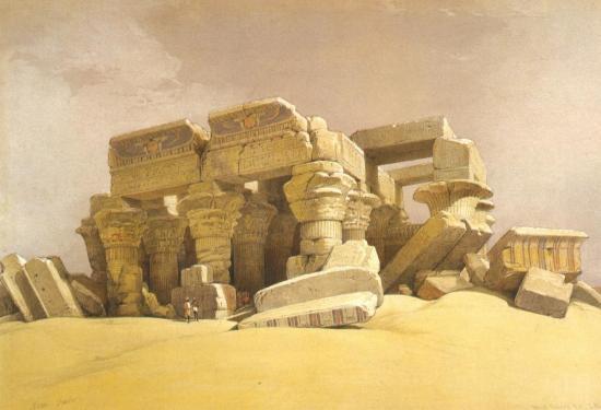 Ruines du temple de Kom Ombo