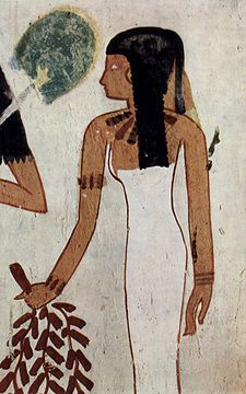 Décoration dans la tombe de Djeserkareseneb