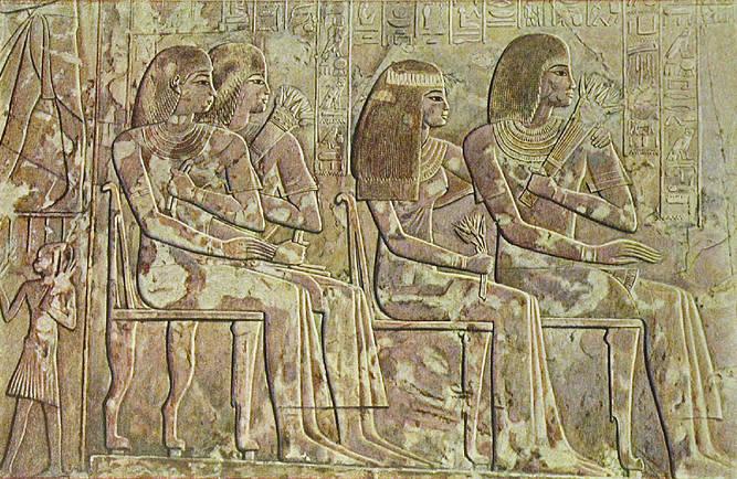 Livre des morts dans la tombe de Ramose