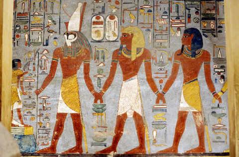 Décoration dans la tombe de Ramsès I