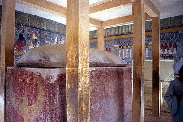 Salle du sarcophage de Ramsès I