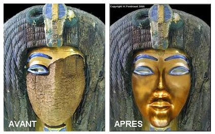 Visage d'Akhenaton