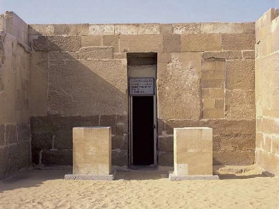 Entrée de la tombe de Ptah-hotep