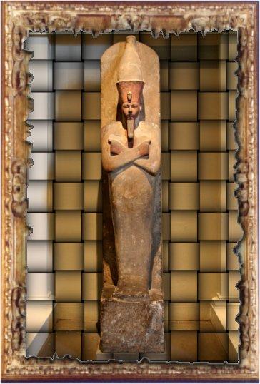 Statue d'Aménophis I