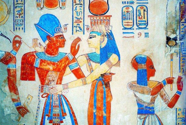 Peinture de la tombe d'amon-her-khepechef