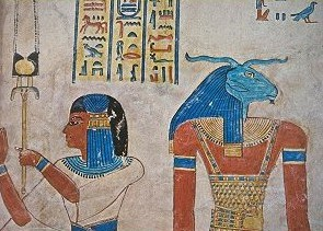 Autre peinture de la tombe d'amon-her-khepechef
