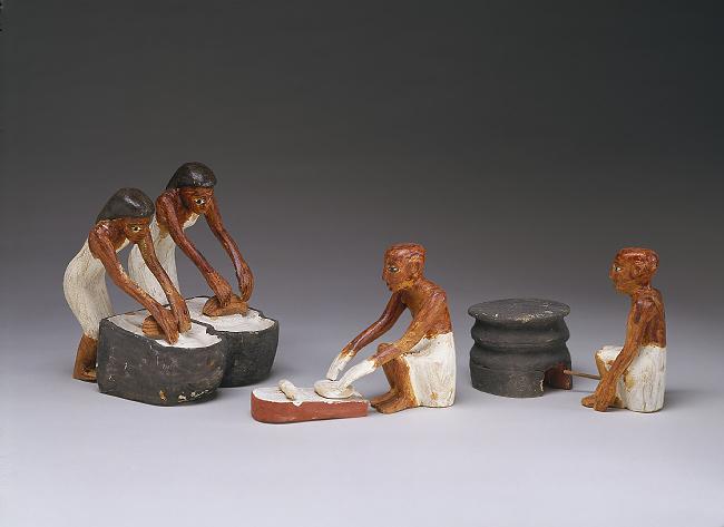 Boulangers et Brasseurs. XI dynastie. tombe de Meketrê