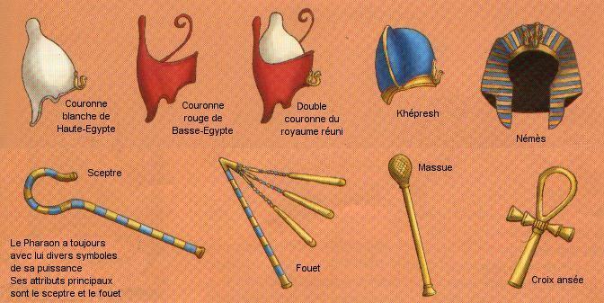 Attributs de Pharaon