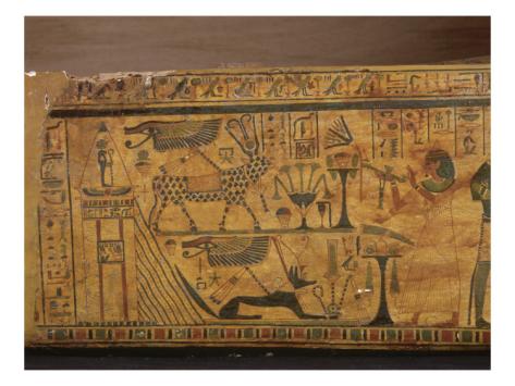 cuve du sarcophage du vizir Paser