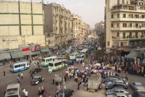 Le centre du Caire
