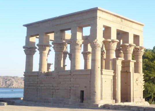 Temple sur l'ile de Philaé