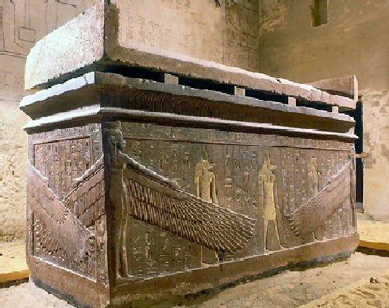 sarcophage d'horemheb