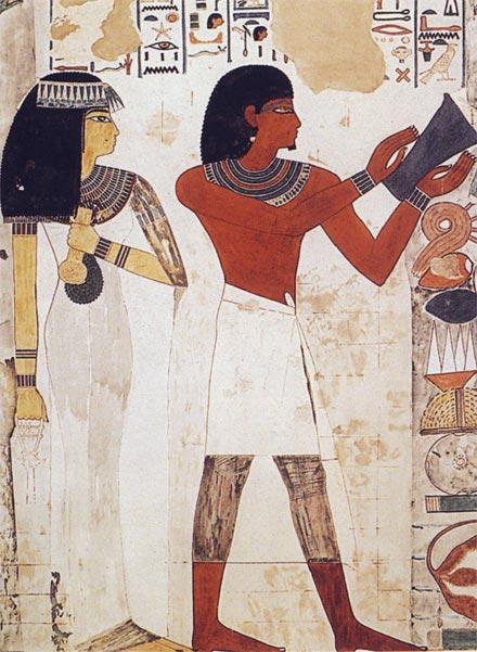 Nakht représenter dans sa tombe