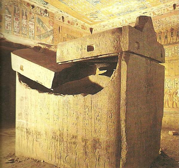 Sarcophage casé de Ramsès IV