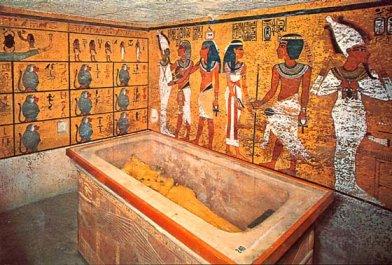 Salle du sarcophage de toutankhamon